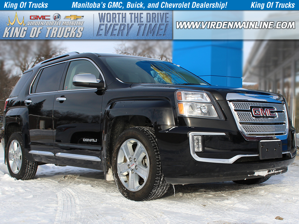 Pre Owned 2017 Gmc Terrain Denali Awd 4cyl Sunroof Navigation