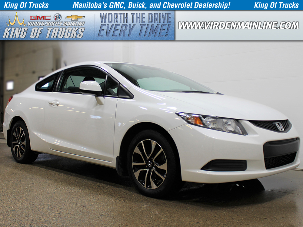 Pre-Owned 2013 Honda Civic Coupe LX | Manual Transmission | Bluetooth