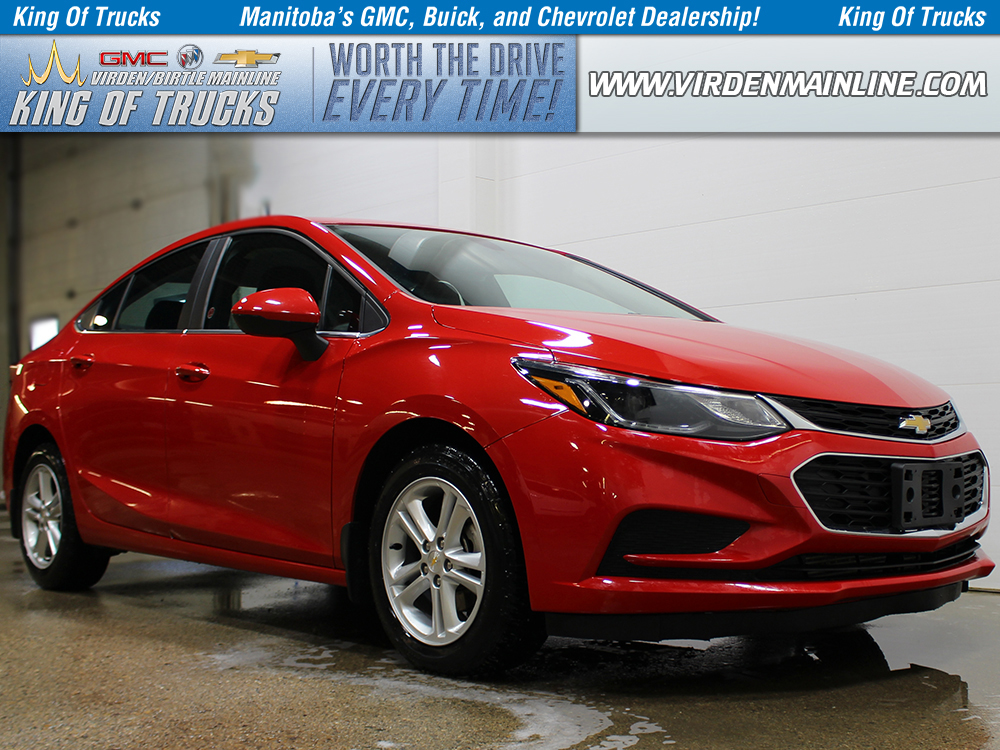 Pre-Owned 2017 Chevrolet Cruze LT | Sedan | 4cyl | Rear Camera | Heated Seats