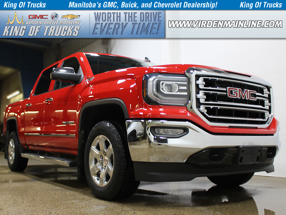 Pre-Owned 2016 GMC Sierra 1500 SLT | Crew | Z71 | Power Pedals