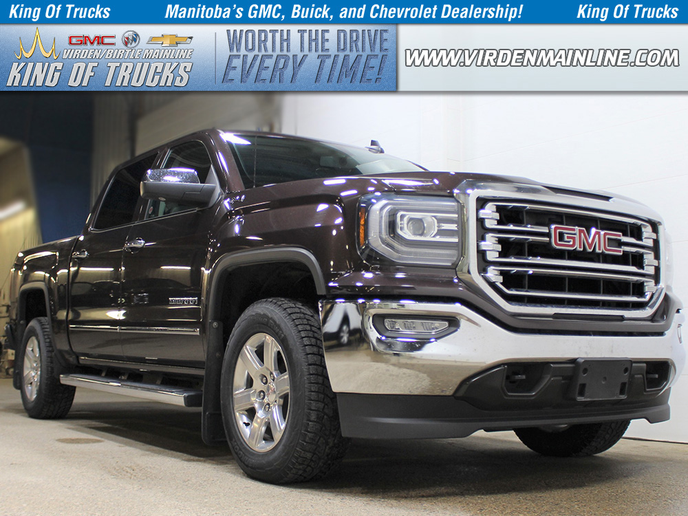 Pre-Owned 2016 GMC Sierra 1500 SLT | Crew | Max Trailering | 5.3L V8 | Leather Bench
