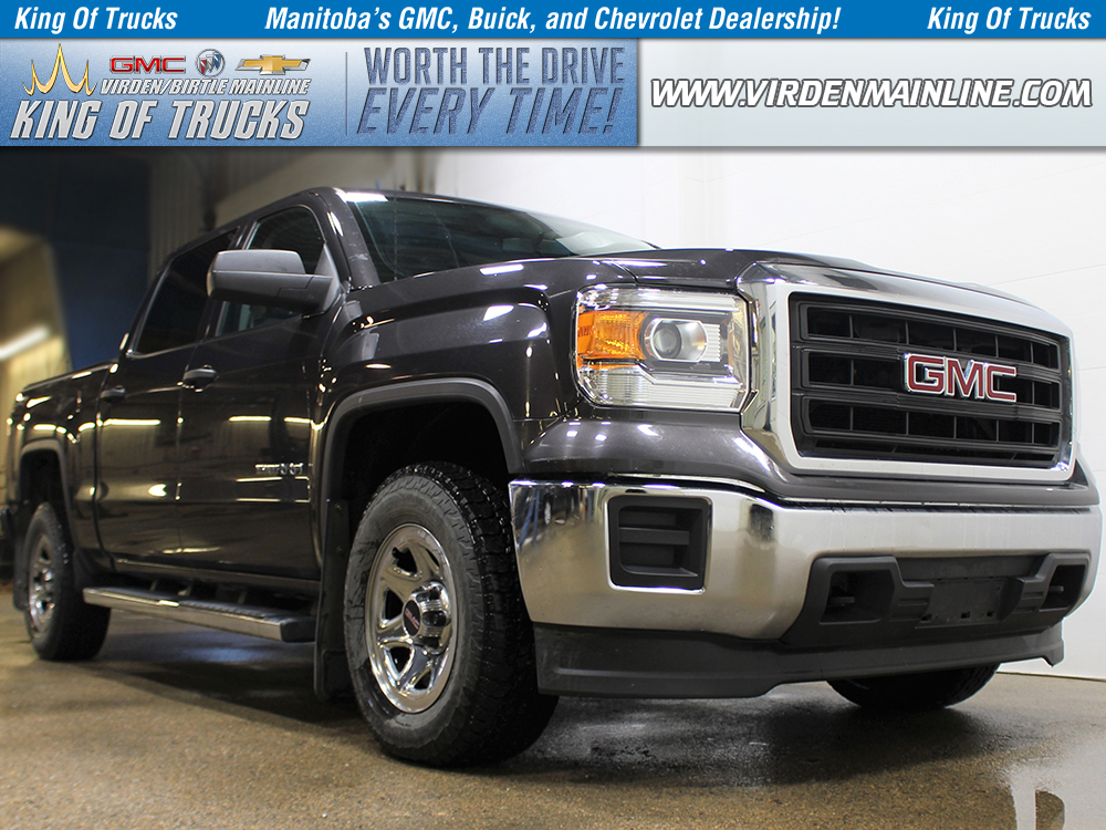 Pre-Owned 2015 GMC Sierra 1500 WT | Crew | 5.3L V8 | Rear Camera