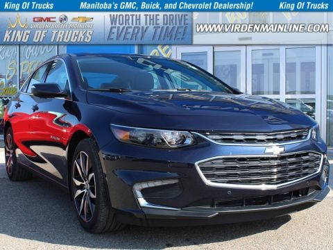 New 2018 Chevrolet Malibu LT | TRUE NORTH | $218 B/W