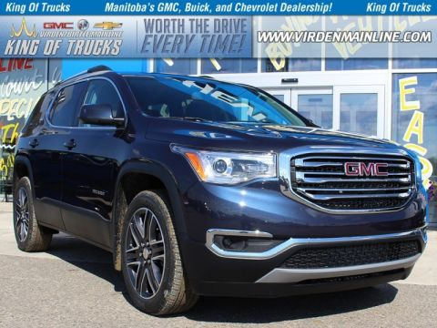 New 2018 GMC Acadia SLT1 | AWD | $316 B/W