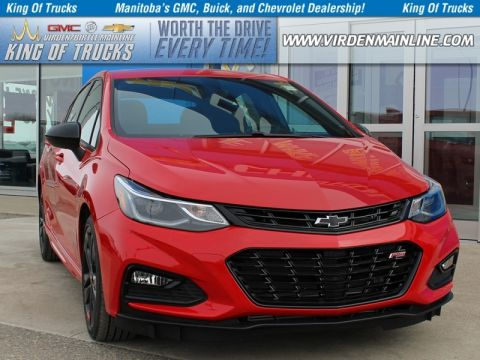 New 2018 Chevrolet Cruze LT